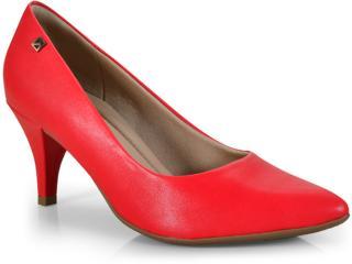 Sapato Feminino Piccadilly 745050/1 Vermelho - Tamanho Médio