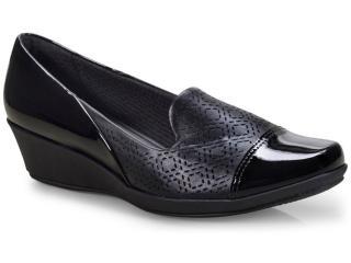 Sapato Feminino Piccadilly 144041 Preto - Tamanho Médio