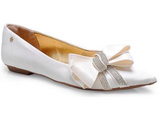 Sapato Feminino Pienza Ex831724 Perola - Tamanho Médio