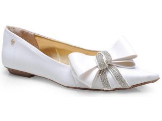 Sapato Feminino Pienza Ex831724 Branco - Tamanho Médio