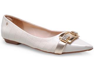 Sapato Feminino Pienza Ex831457 Off White - Tamanho Médio
