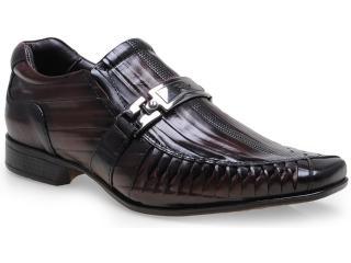 Sapato Masculino Rafarillo 7849 Mogno - Tamanho Médio