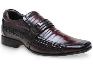 Sapato Masculino Rafarillo 7899 Mogno - Tamanho Médio