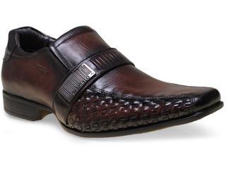 Sapato Masculino Rafarillo 7916600 Mogno - Tamanho Médio