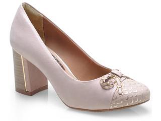 Sapato Feminino Ramarim 14-95206 Nude - Tamanho Médio