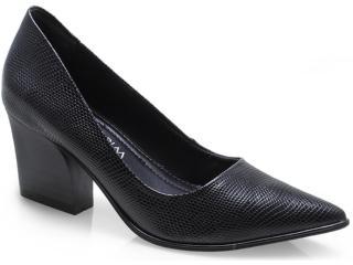 Sapato Feminino Ramarim 14-47201 Preto - Tamanho Médio