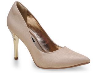 Sapato Feminino Ramarim 14-65203 Ouro - Tamanho Médio