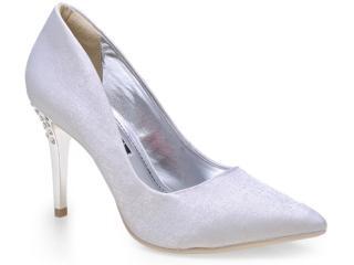 Sapato Feminino Ramarim 14-65203 Prata - Tamanho Médio