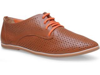 Sapato Feminino Ramarim 15-90101 Caramelo/laranja - Tamanho Médio