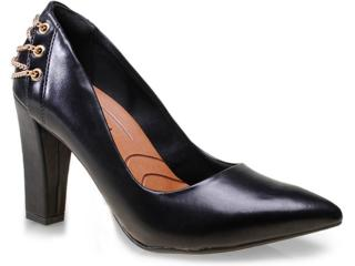 Sapato Feminino Ramarim 15-46104 Preto - Tamanho Médio