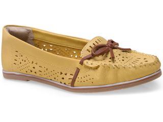 Sapato Feminino Ramarim 15-81103 Amarelo/caramelo - Tamanho Médio