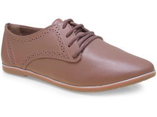 Sapato Feminino Ramarim 15-90102 Chocolate - Tamanho Médio