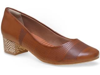Sapato Feminino Ramarim 15-43102 Caramelo - Tamanho Médio