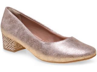 Sapato Feminino Ramarim 15-43101 Champagne - Tamanho Médio