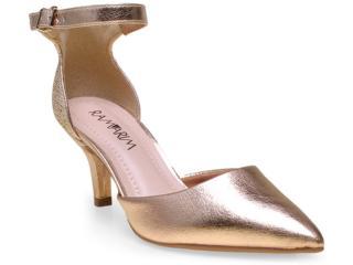 Sapato Feminino Ramarim 15-26204 Champanhe - Tamanho Médio