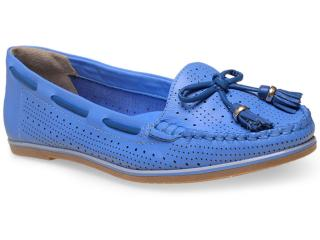 Sapato Feminino Ramarim 15-81202 Azul - Tamanho Médio
