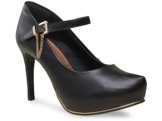 Sapato Feminino Ramarim 15-40103-1 Preto - Tamanho Médio