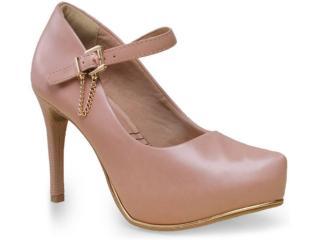 Sapato Feminino Ramarim 15-40103 Pele - Tamanho Médio