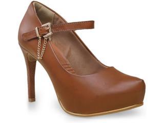 Sapato Feminino Ramarim 15-40103 Caramelo - Tamanho Médio