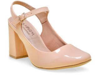 Sapato Feminino Ramarim 16-97101 Amendoa - Tamanho Médio