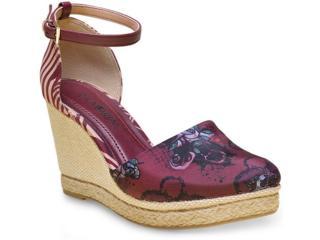 Sapato Feminino Ramarim 16-66102 Vinho - Tamanho Médio