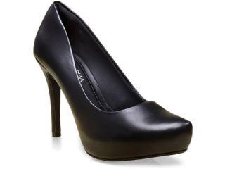 Sapato Feminino Ramarim 16-40101 Preto - Tamanho Médio