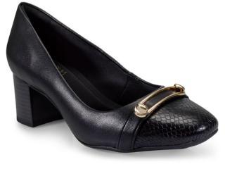 Sapato Feminino Ramarim 17-97204 Preto - Tamanho Médio