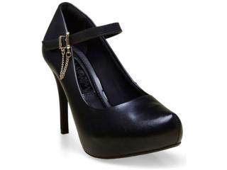 Sapato Feminino Ramarim 16-40204 Preto - Tamanho Médio
