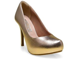 Sapato Feminino Ramarim 16-40201 Champagne - Tamanho Médio