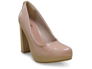Sapato Feminino Ramarim 17-40101 Amendoa - Tamanho Médio