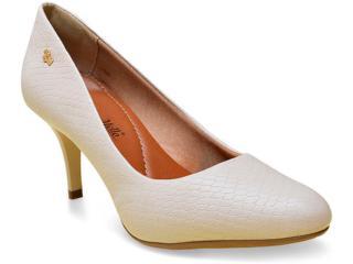 Sapato Feminino Renata Mello 766.31050 Off White - Tamanho Médio