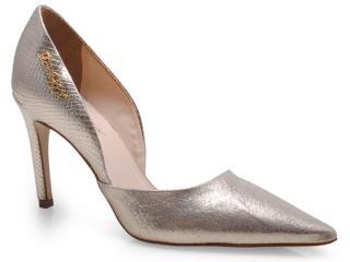 Sapato Feminino Seculo Xxx 1000-20100 Ouro/dourado/nude/rose - Tamanho Médio