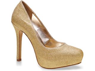 Sapato Feminino Seculo Xxx 903.9791 Ouro - Tamanho Médio