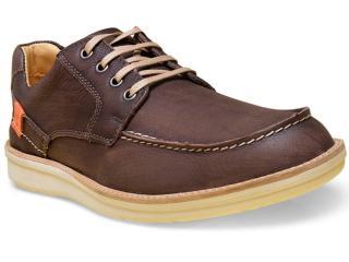 Sapato Masculino Sollu 18003 Café - Tamanho Médio