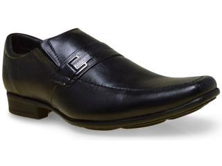 Sapato Masculino Sollu 17006 Preto c/ Kit - Tamanho Médio