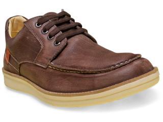 Sapato Masculino Sollu 18003 Café/marrom - Tamanho Médio