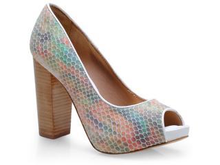 Sapato Feminino Tanara 6182 Multicolor - Tamanho Médio