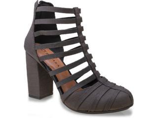 Sapato Feminino Tanara 6864 Grey - Tamanho Médio