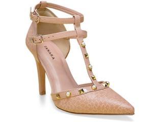 Sapato Feminino Tanara 0186 Nude - Tamanho Médio