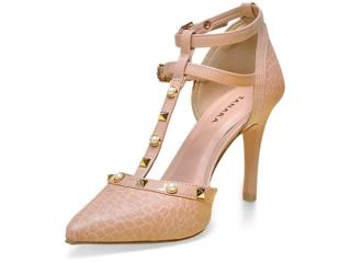 71c188360 Sapato Tanara 0186 Nude Comprar na Loja online kinei.com.br