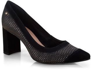 Sapato Feminino Tanara T3181 Preto - Tamanho Médio