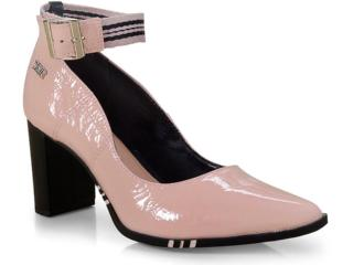 Sapato Feminino Tanara T3323 Blush/preto - Tamanho Médio