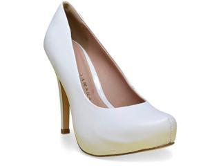 Sapato Feminino Tanara 0161 Branco - Tamanho Médio