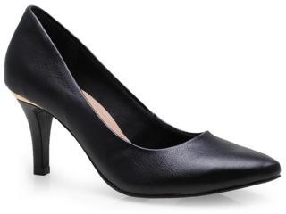 Sapato Feminino Via Marte 14-3577 Preto - Tamanho Médio