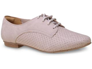 Sapato Feminino Via Marte 15-8201 Nude - Tamanho Médio