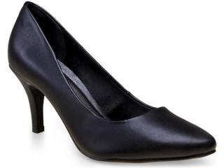 Sapato Feminino Via Marte 14-23401 Preto - Tamanho Médio