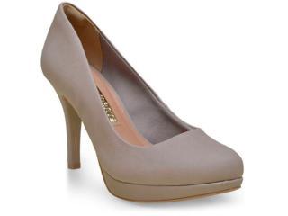 Sapato Feminino Via Marte 16-2602 Taupe - Tamanho Médio