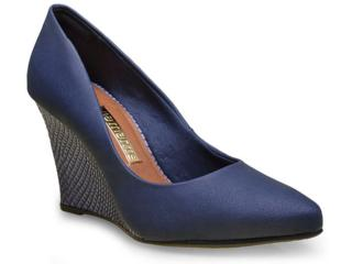 Sapato Feminino Via Marte 16-3806 Marinho - Tamanho Médio