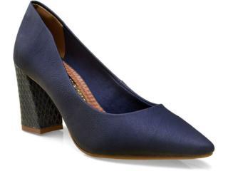 Sapato Feminino Via Marte 16-2101 Marinho - Tamanho Médio