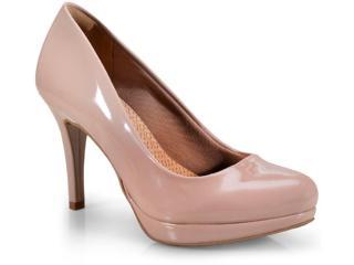 Sapato Feminino Via Marte 18-1301 Nude - Tamanho Médio